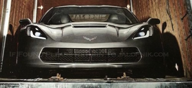 2014 Chevrolet Corvette Front Top Leak