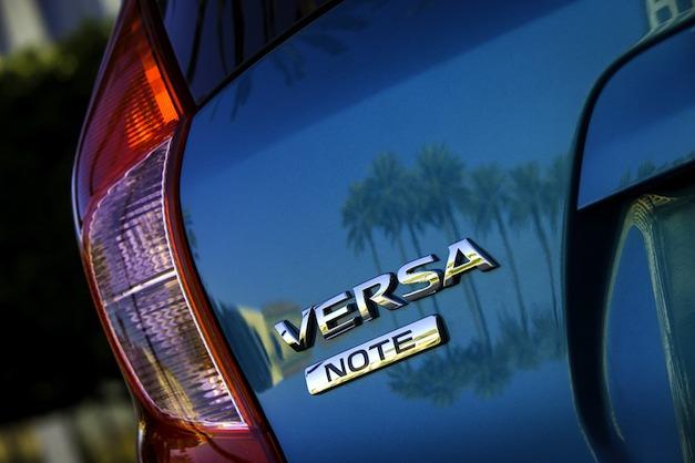 2014 Nissan Versa Note Teaser