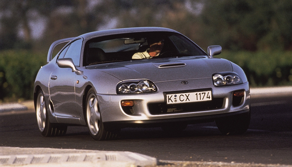 1995 Toyota Supra Front Track Cruising