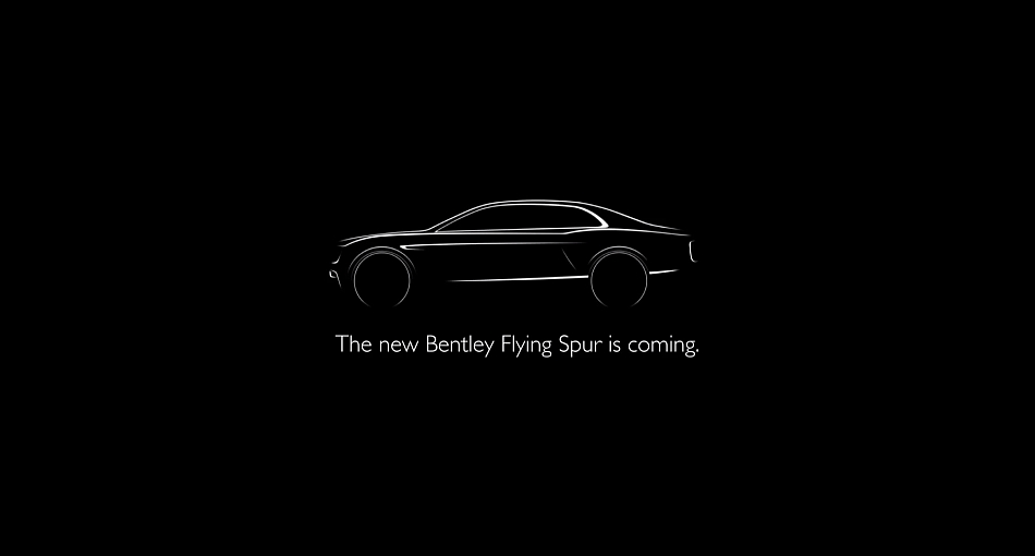 2013 Bentley Flying Spur Teasre