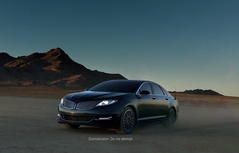 2013 Lincoln MKZ Phoenix Commecial Super Bowl XLVII