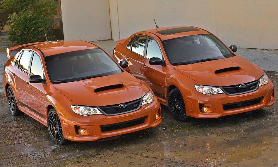 2013 Subaru WRX and WRX STI Special Edition