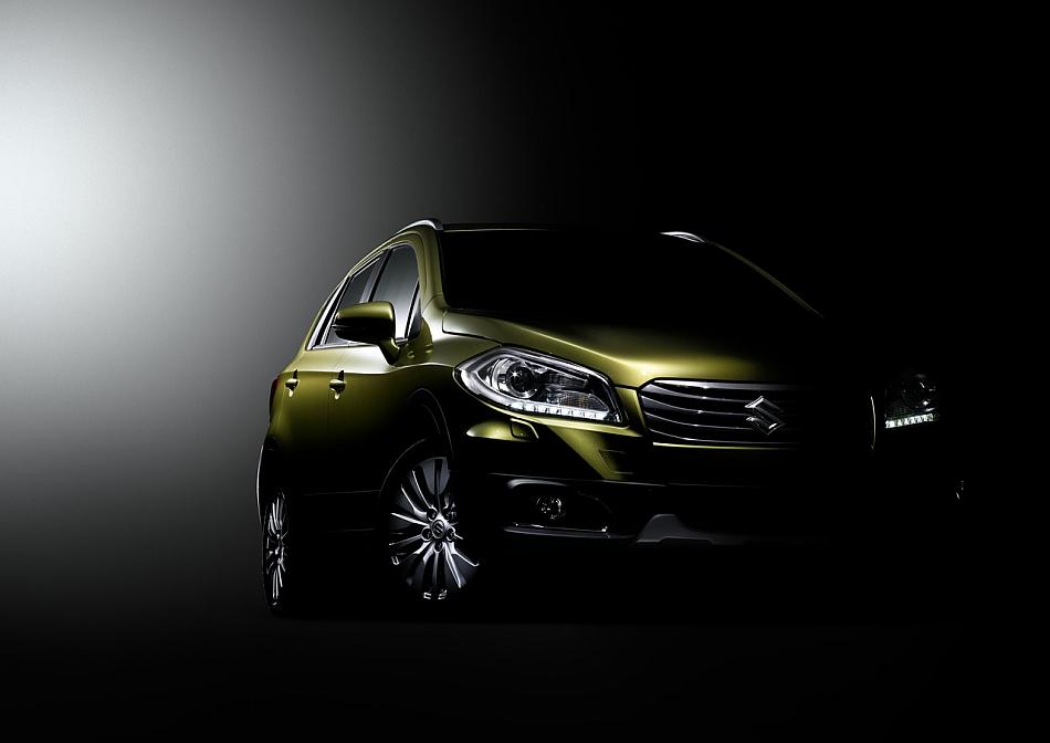 2013 Suzuki Crossover Concept Teaser Geneva Front