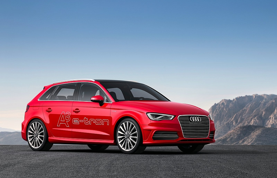 2014 Audi A3 e-tron Concept Front 3-4 Right