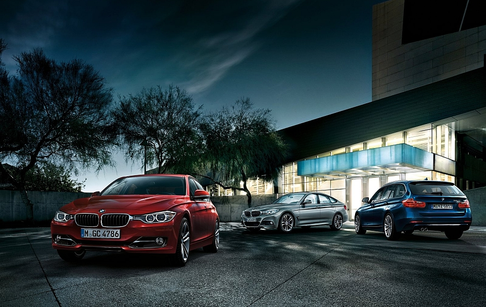 2014 BMW 3-Series Family