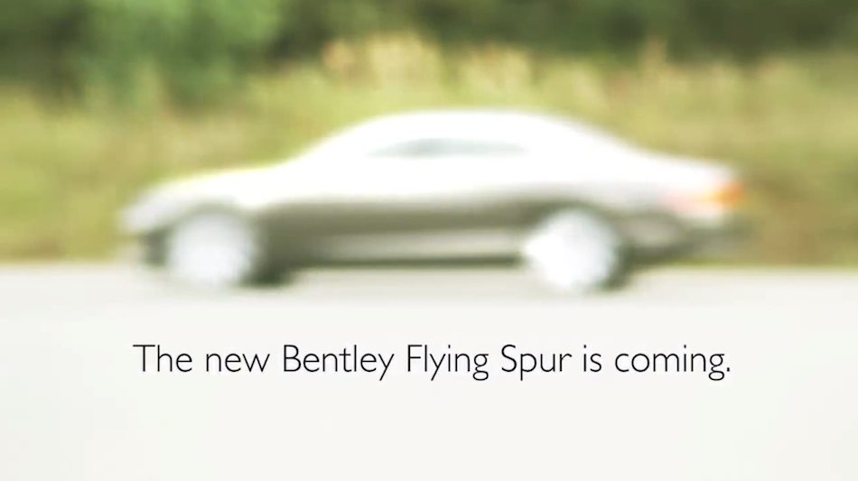 2014 Bentley Continental Flying Spur Teaser