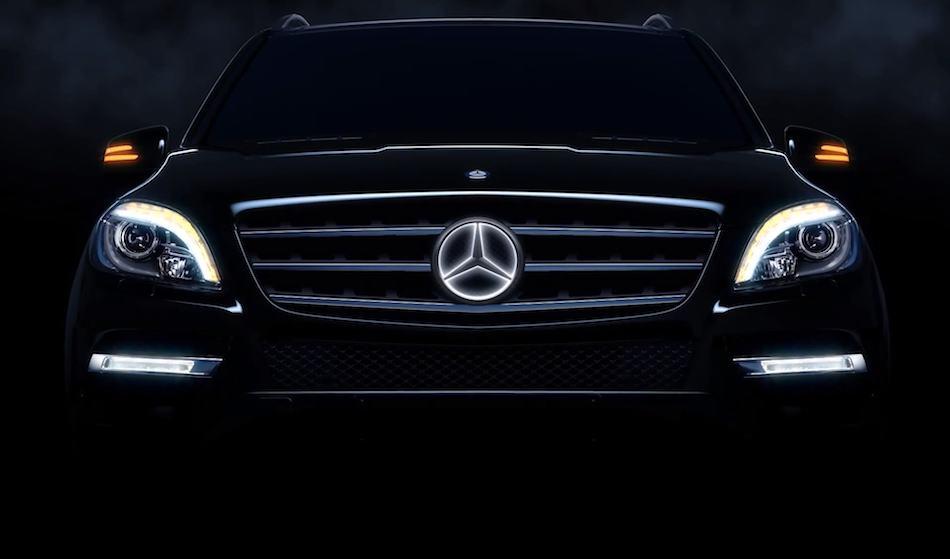 2014 Mercedes-Benz Illuminated Star