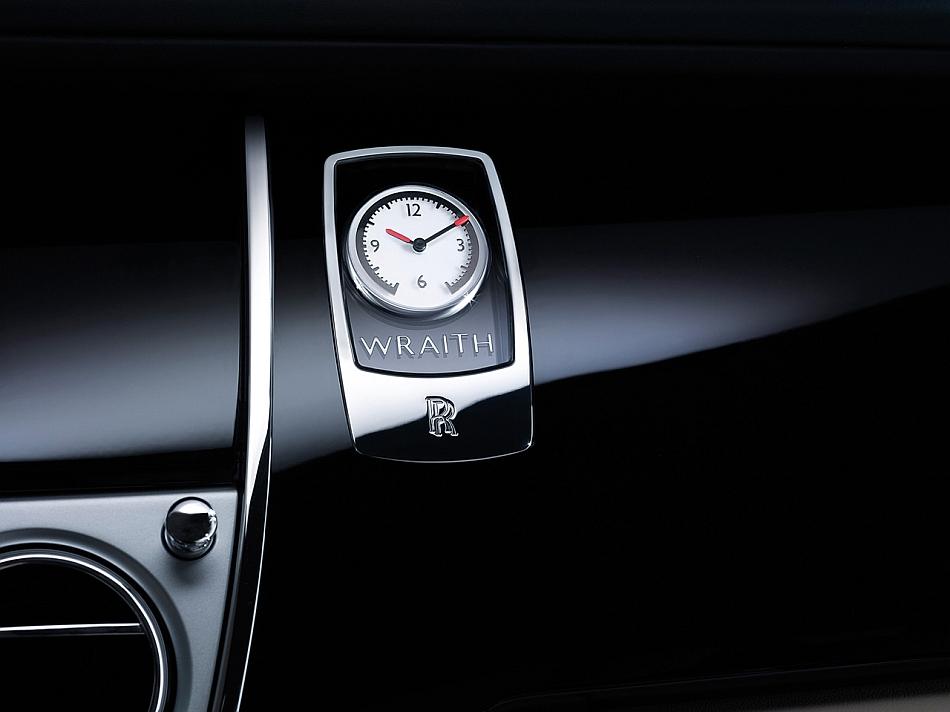 2014 Rolls-Royce Wraith Interior Clock Teaser