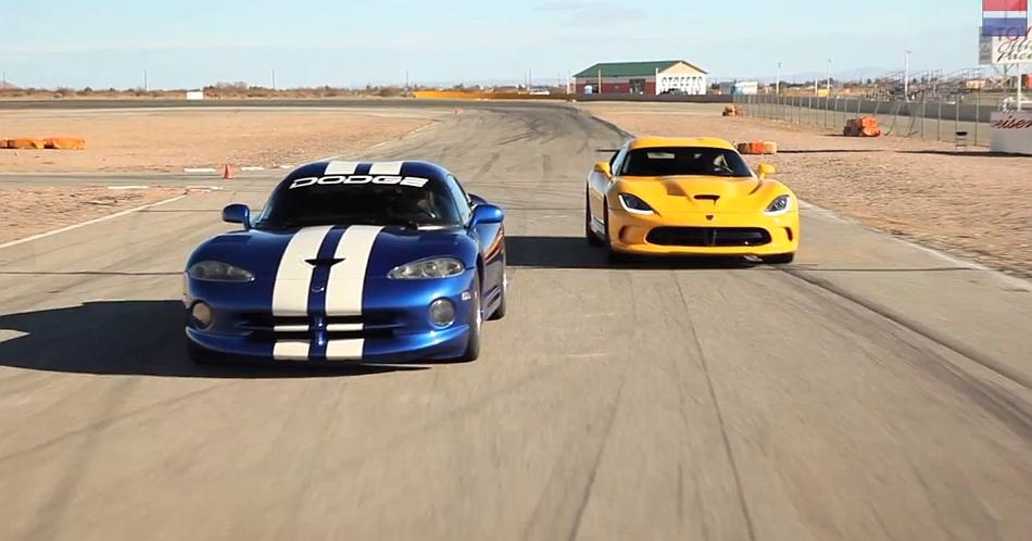 CARandDRIVER Dodge Viper GTS vs SRT Viper