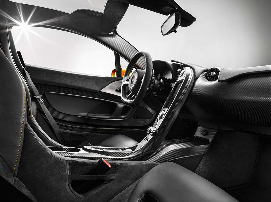 McLaren P1 Interior Teaser