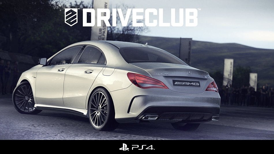 Mercedes-Benz CLA45 AMG DriveClub Teaser