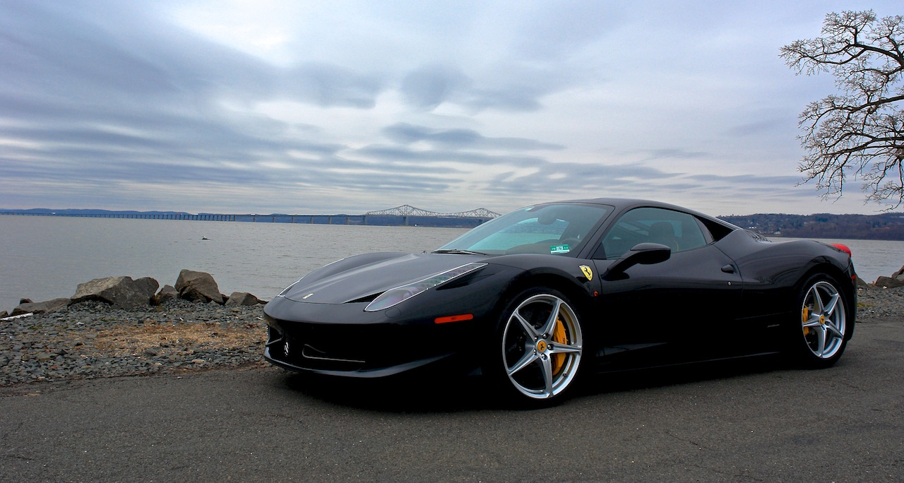 2010 Ferrari 458 Review Front 7-8 Left