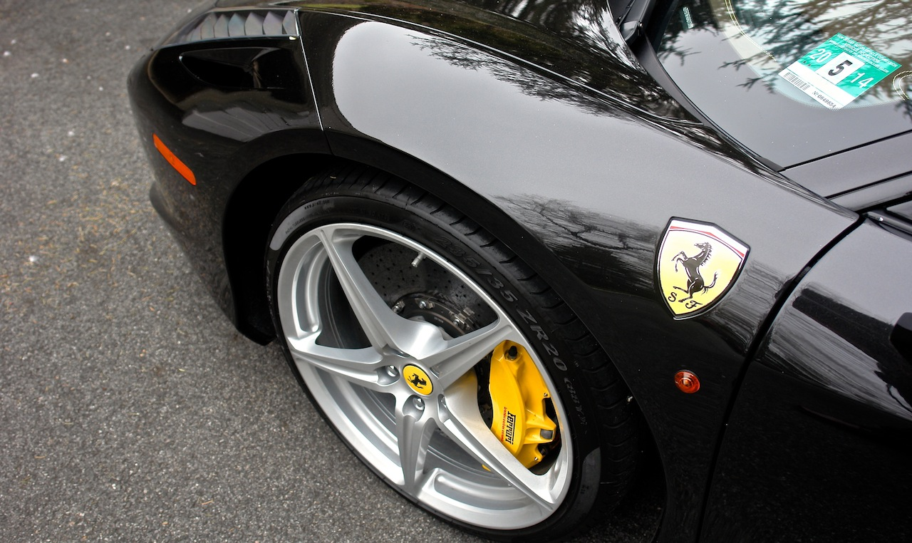 2010 Ferrari 458 Review Front Wheel Detail