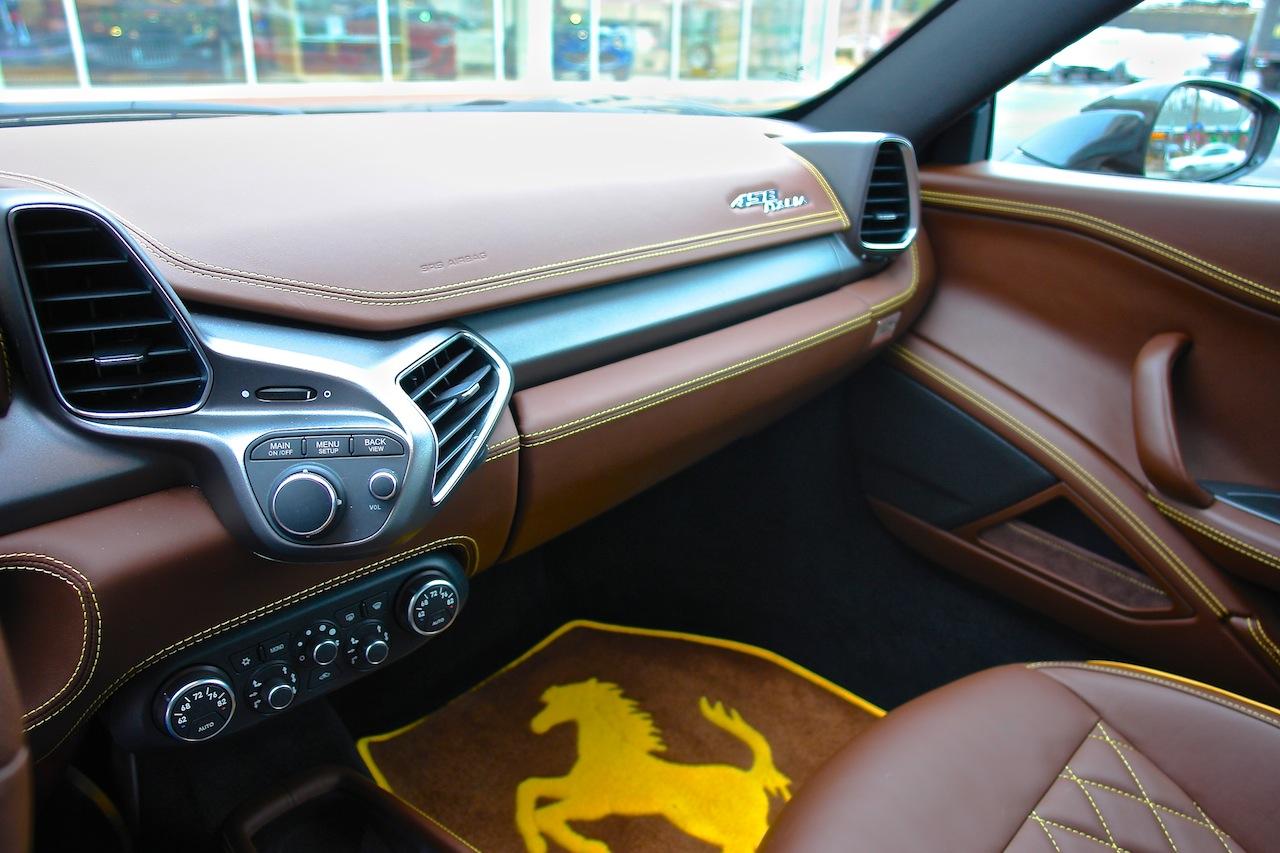 2010 Ferrari 458 Review Passenger Side