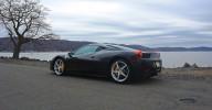 2010 Ferrari 458 Review Rear 7-8 Left