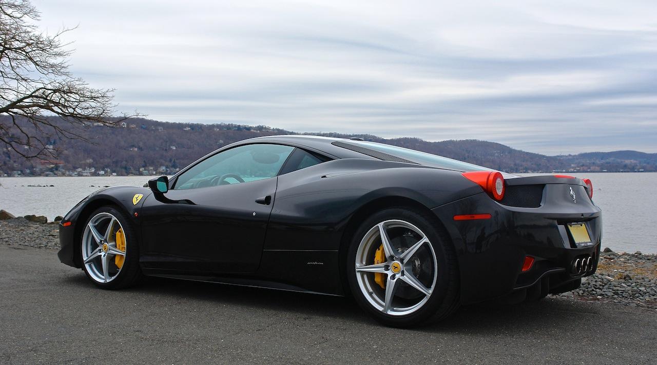 2010 Ferrari 458 Review Rear 7-8 Left Close Up