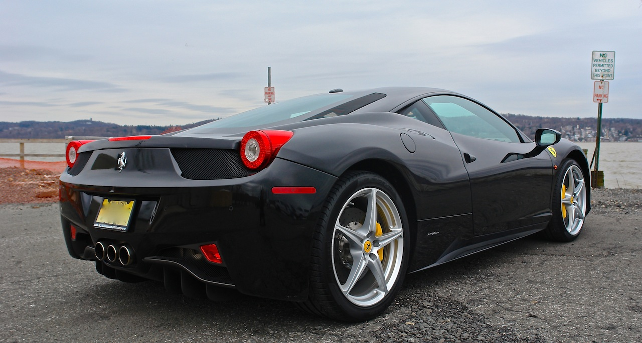 2010 Ferrari 458 Review Rear 7-8 Right Close Up
