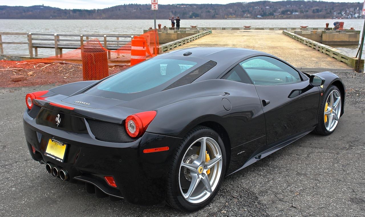 2010 Ferrari 458 Review Rear 7-8 Right