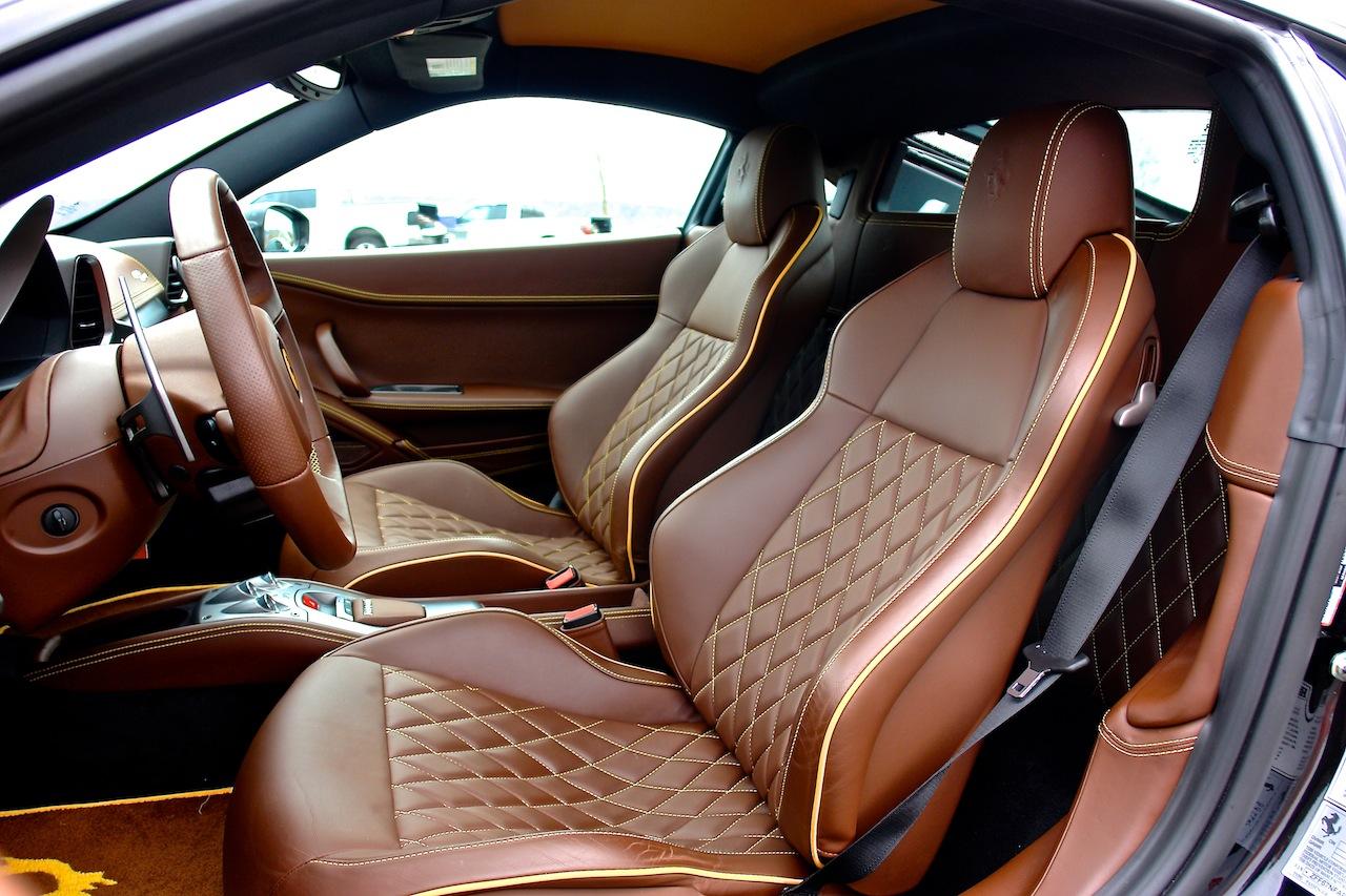 2010 Ferrari 458 Review Seats