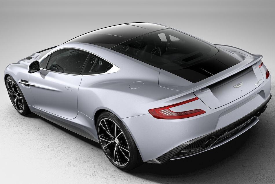 2013 Aston Martin Vanquish Centenary Edition Rear 3-4 Left High Angle