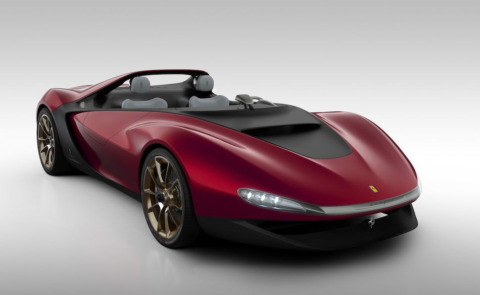 2013 Ferrari Sergio Concept Front 3-4 Right Studio