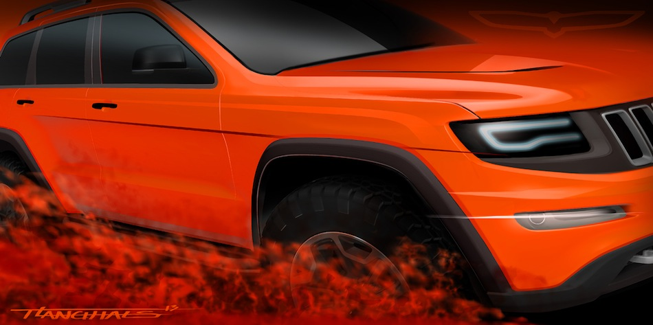 2013 Jeep Grand Cherokee Trailhawk II Teaser