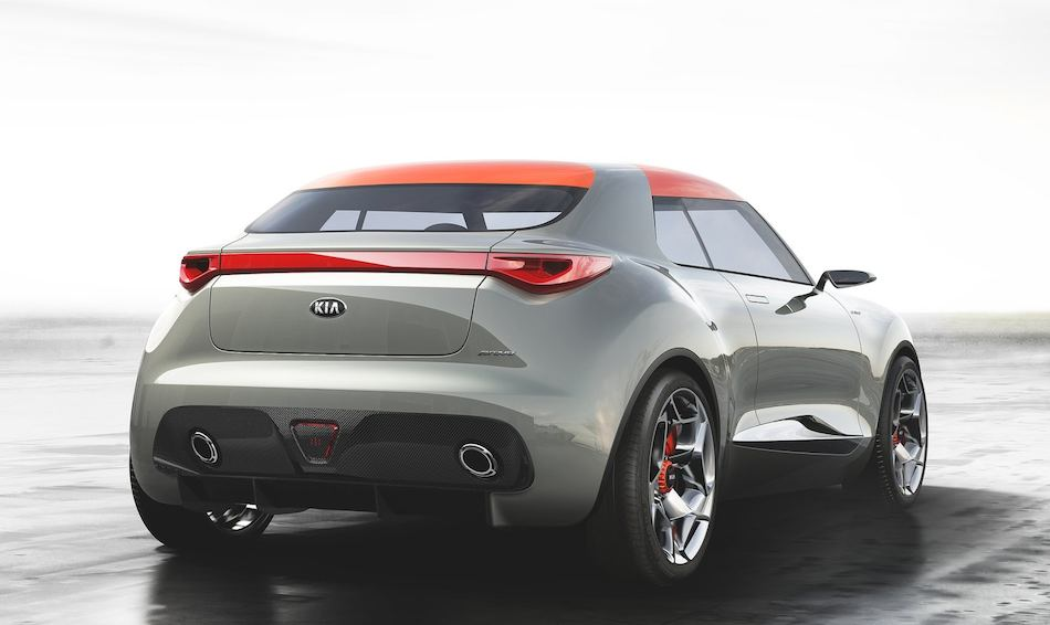2013 Kia Provo Concept Rear 3-4 Right