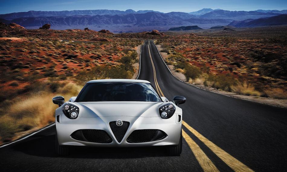 2014 Alfa Romeo 4C Front
