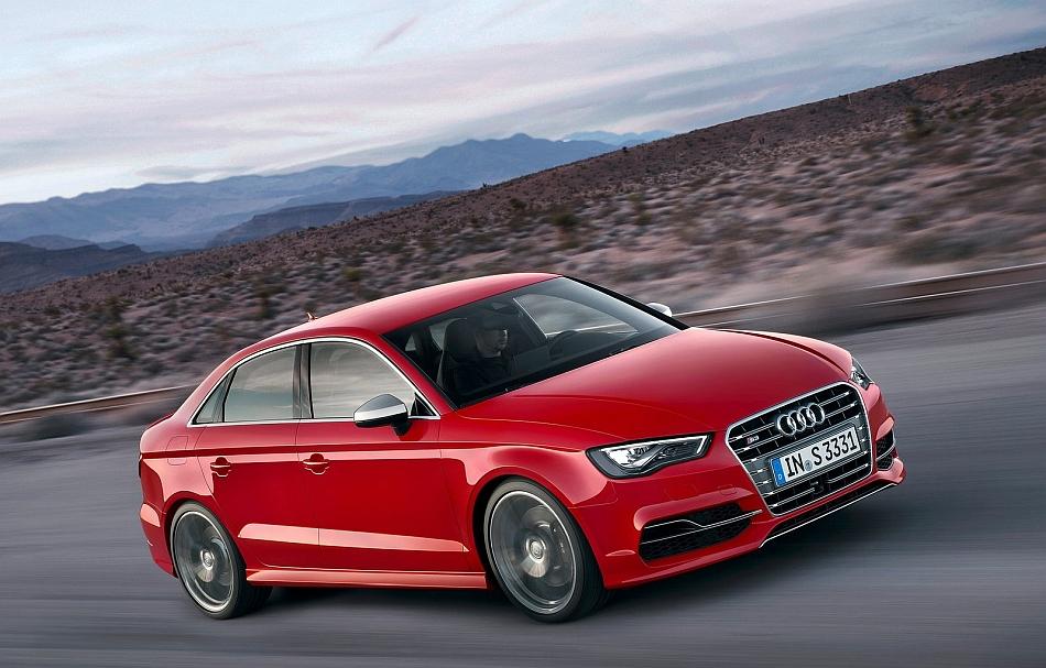 2014 Audi S3 Front 7-8 Right Cruising