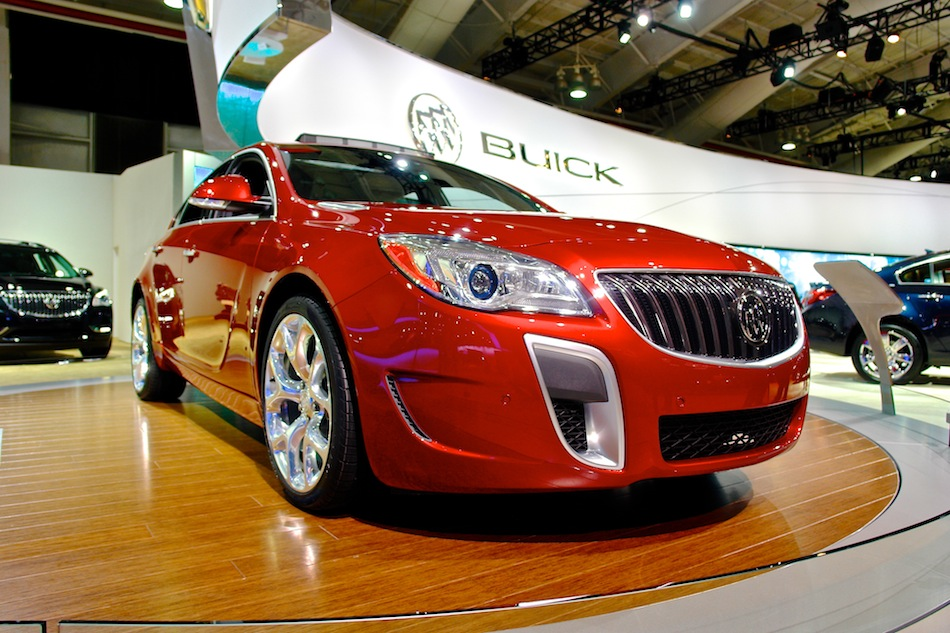 2014 Buick Regal GS Front