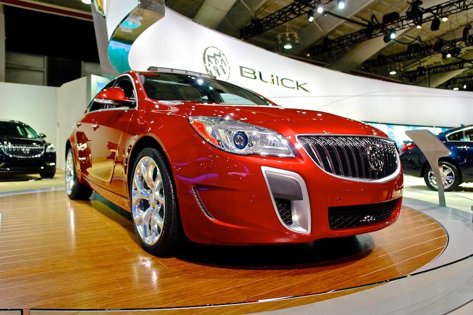2014 Buick Regal GS Front