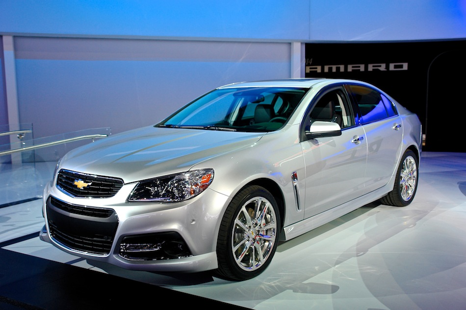 2014 Chevrolet SS Sedan NYIAS
