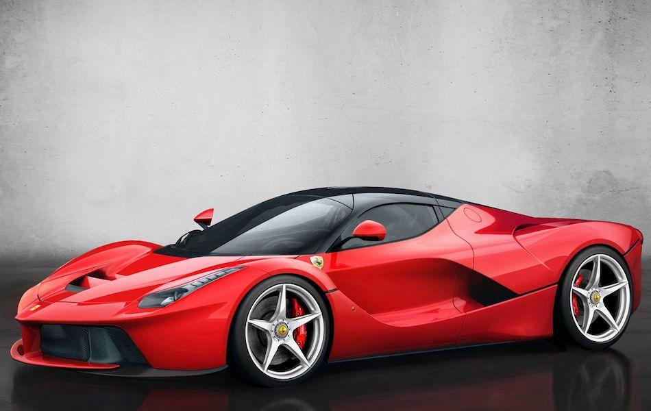 2014 Ferrari LaFerrari Front 7-8 Left