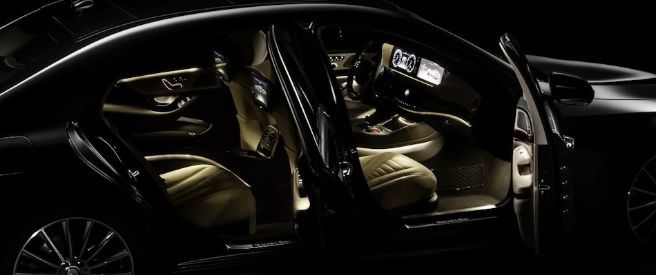 2014 Mercedes-Benz S-Class Interior Teaser Doors Ajar
