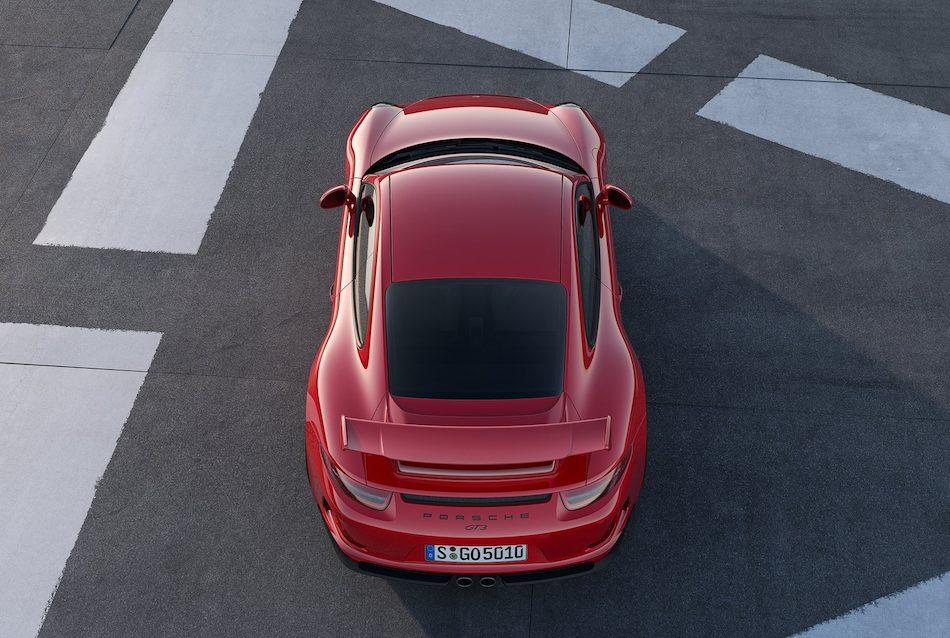 2014 Porsche 911 GT3 From Above