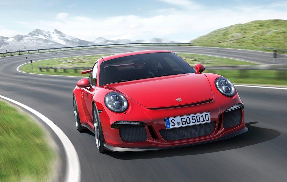 2014 Porsche 911 GT3 Front Cruising