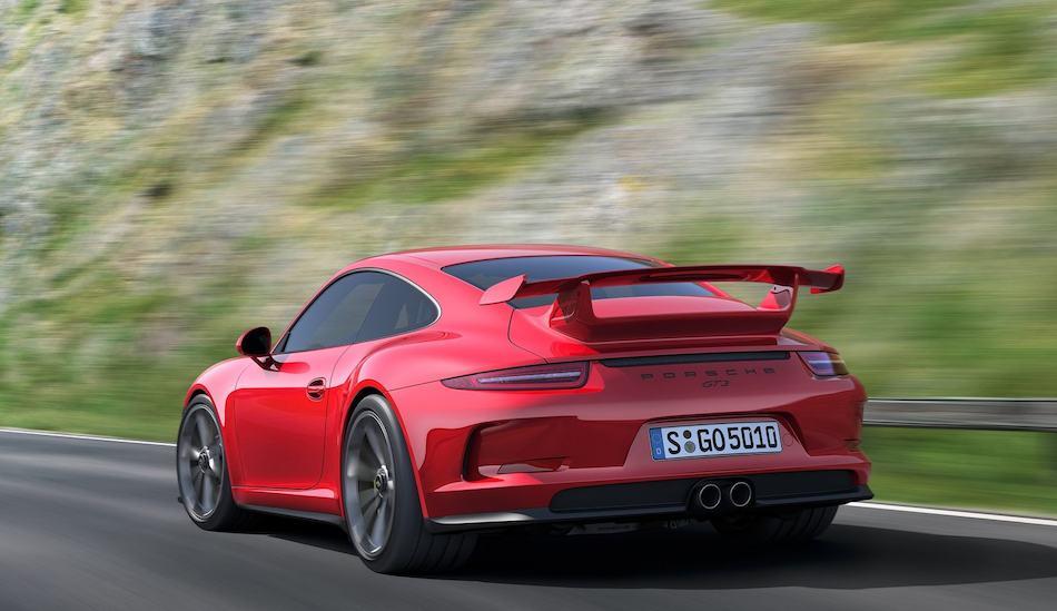 2014 Porsche 911 GT3 Rear 3-4 Left