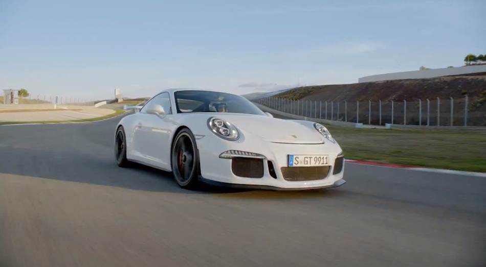 2014 Porsche 911 GT3 Video