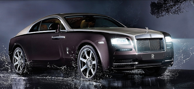 2014 Rolls-Royce Wraith Coupe Banner
