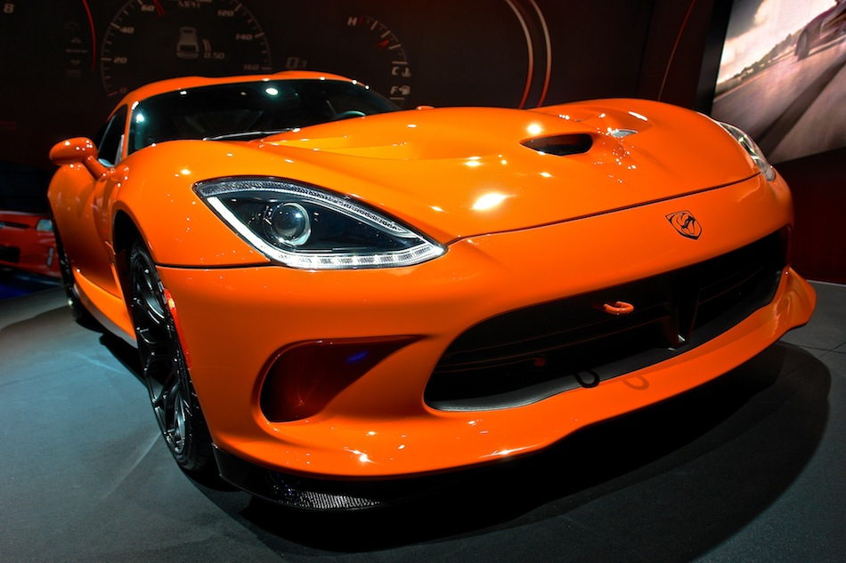 2014 SRT Viper TA NYIAS Front Close Up