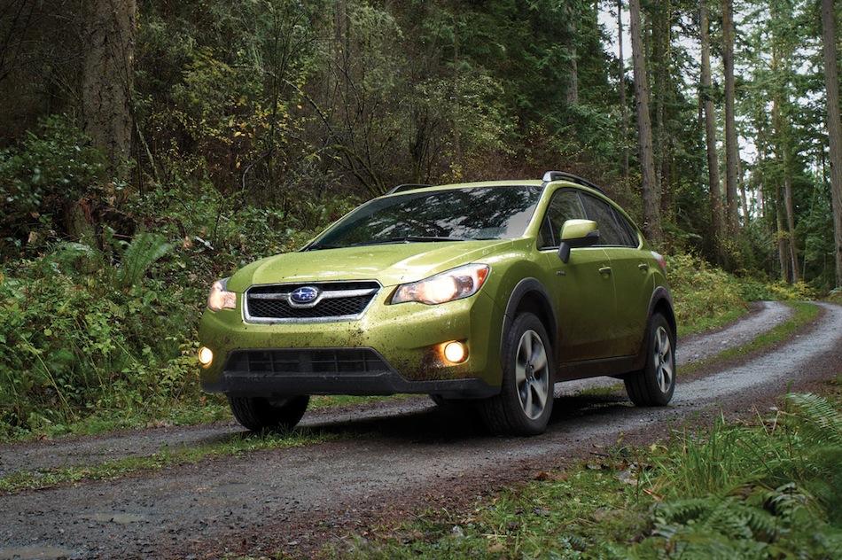 2014 Subaru XV Crosstrek Hybrid Teaser