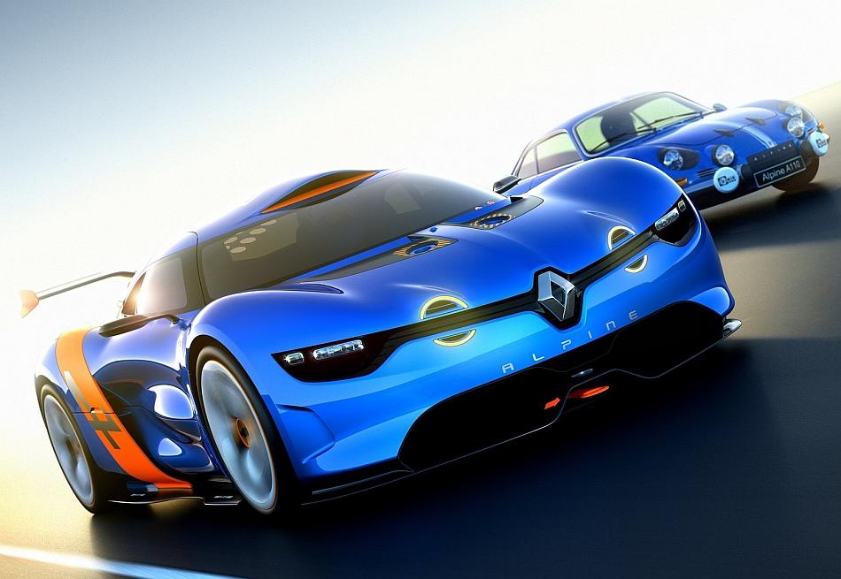 2012 Alpine A110-50 Concept