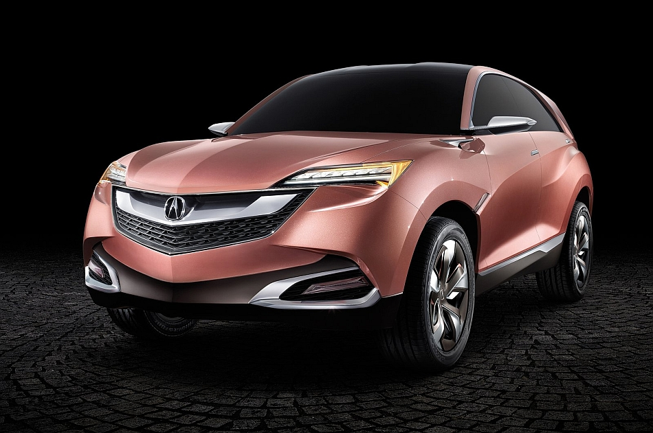 2013 Acura SUV-X Concept Front 3-4 Left