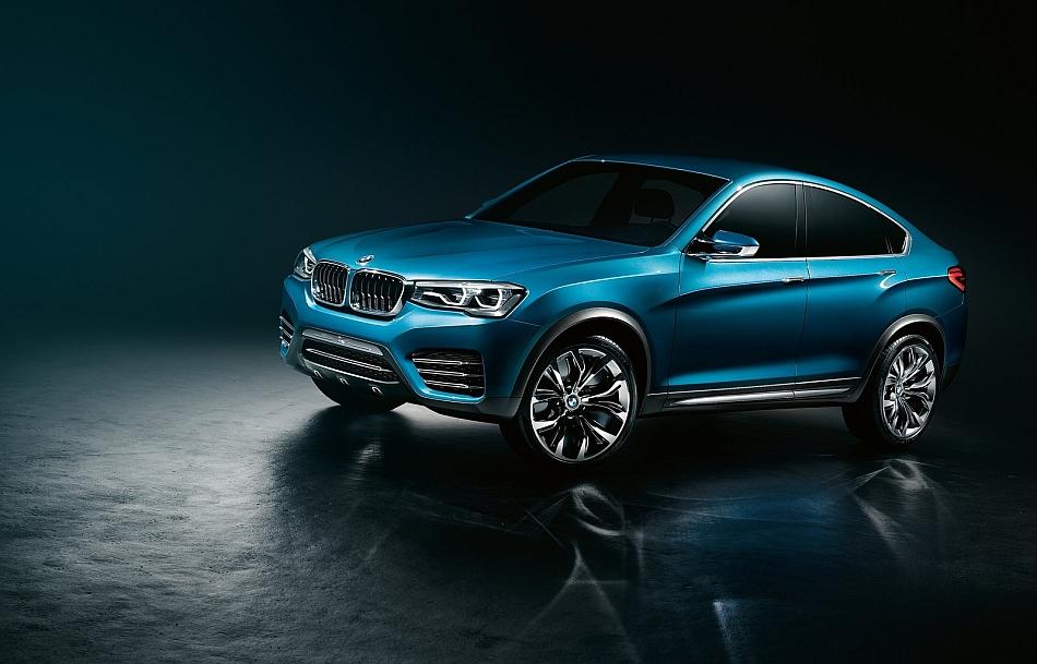 2013 BMW X4 SAV Concept