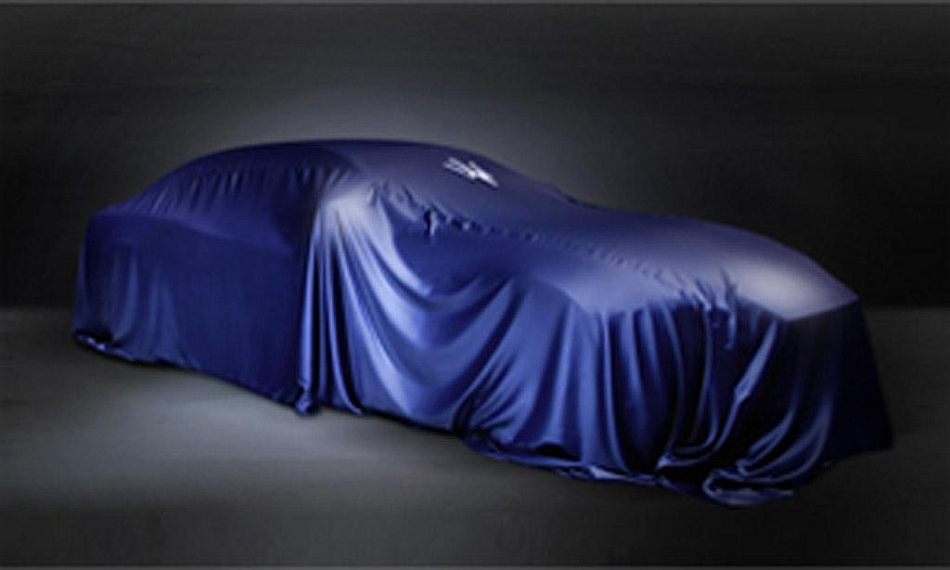 2013 Maserati Teaser Shanghai Motor Show
