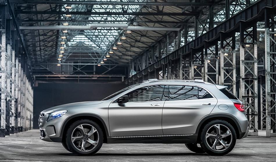 2013 Mercedes-Benz Concept GLA Left Side