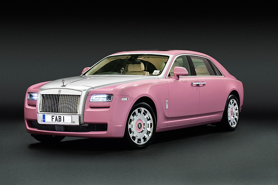 2013 Rolls-Royce Ghost FAB1 for Breast Cancer Care