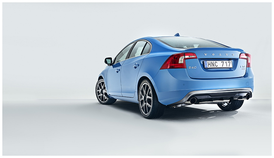2013 Volvo S60 Polestar Rear 7-8 Left
