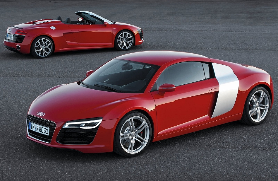 2014 Audi R8 Coupe and Spyder