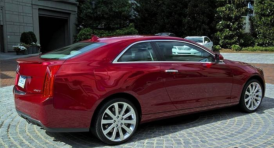 2014 Cadillac ATS Coupe Rendering